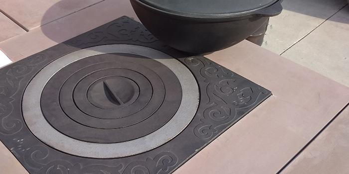 Чугунные плиты для готовки